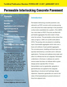 FHWA-PICP-TechBrief