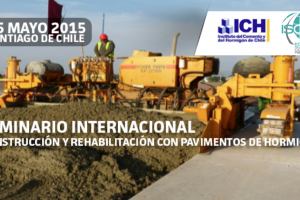 ICH International Seminar on Construction & Rehabilitation of Concrete Pavement to be Held May 25