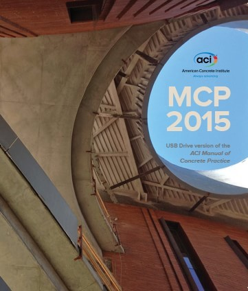 New ACI 2015 Manual of Concrete Practice Now Available