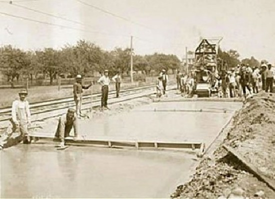 2015 Marks 150th Anniversary of the World's First Concrete Pavement