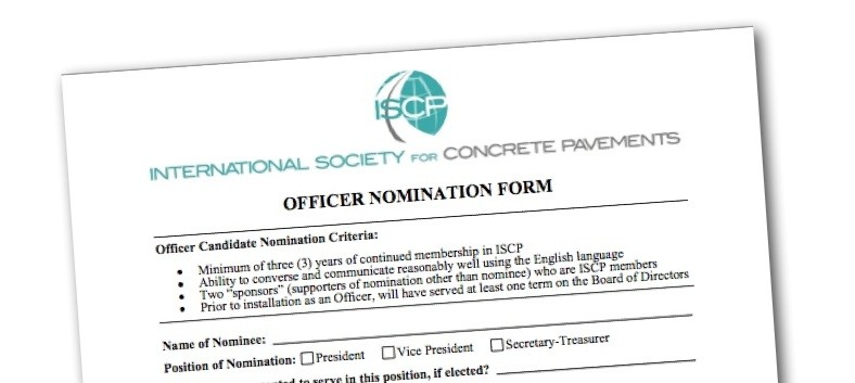 ISCP Accepting Officer Nominations for Fall 2015 Elections