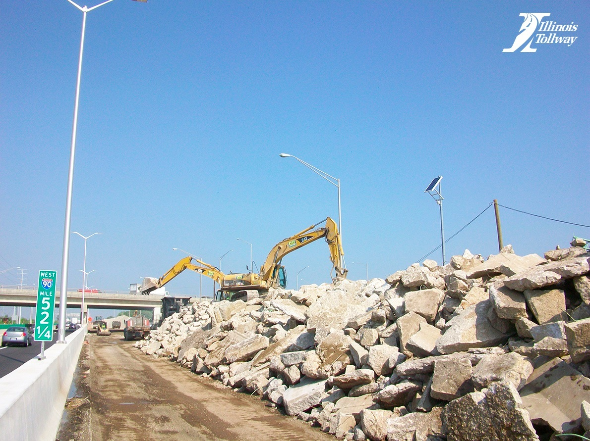 I-90 Tollway Project: Concrete Recycling & Green Building ...