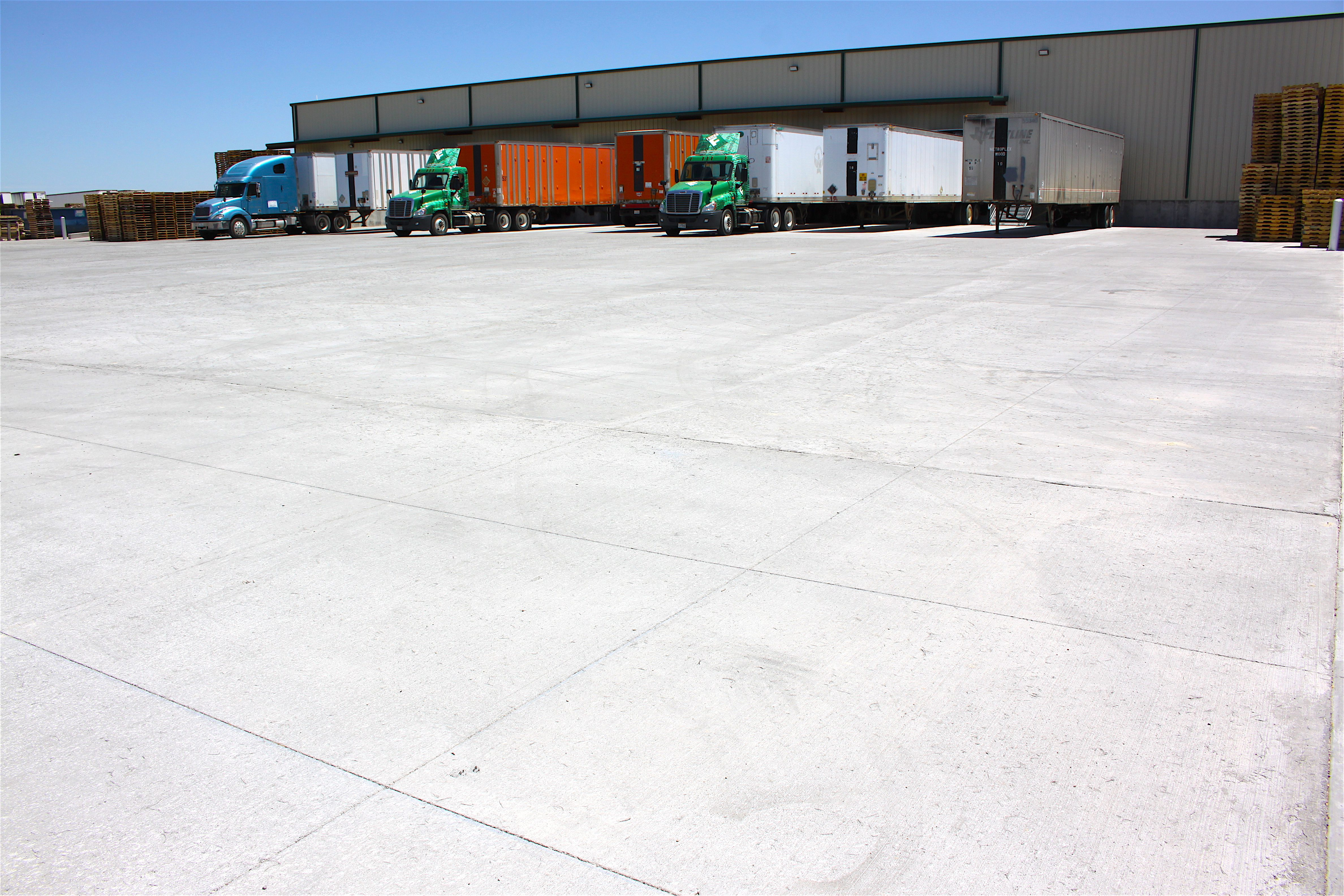 TCP Fiber-Reinforced Heavy-Truck Traffic Project is First OptiPave Project in the U.S.