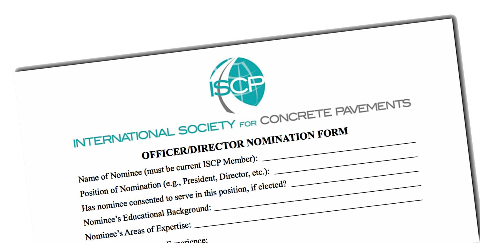 ISCP Accepting Board of Director Nominations—Fall 2017 Elections