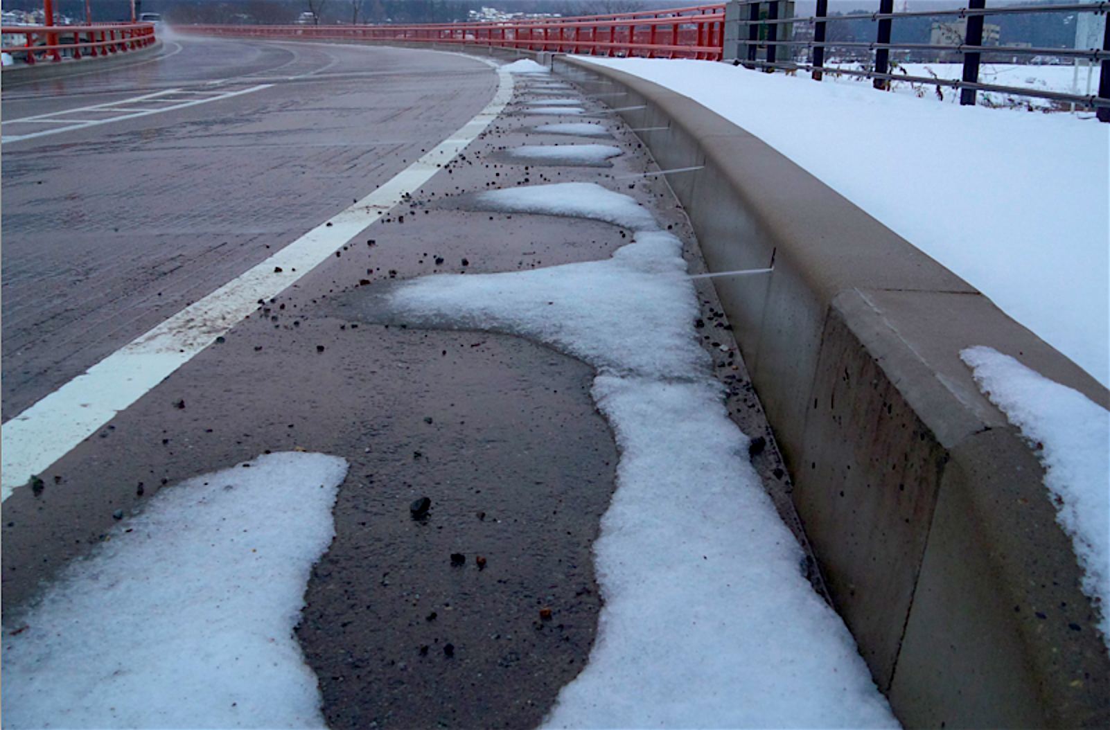 Wax On, Melt Off—Adding Paraffin to Concrete Can Help Roads Clear Themselves in The Winter