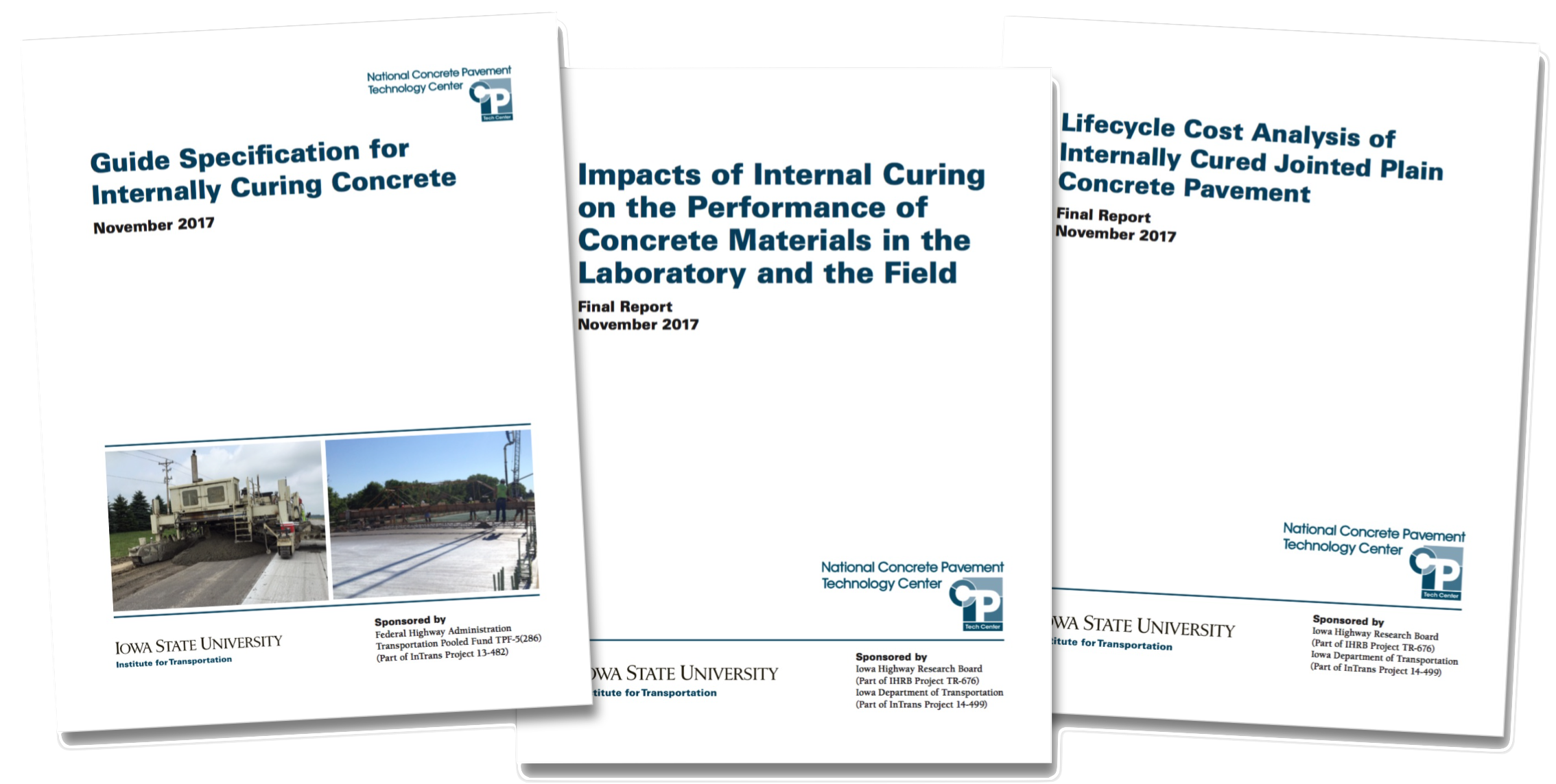"""CP Tech Center Publishes Trio of New Reports: """"Internal Curing of Concrete"""""""