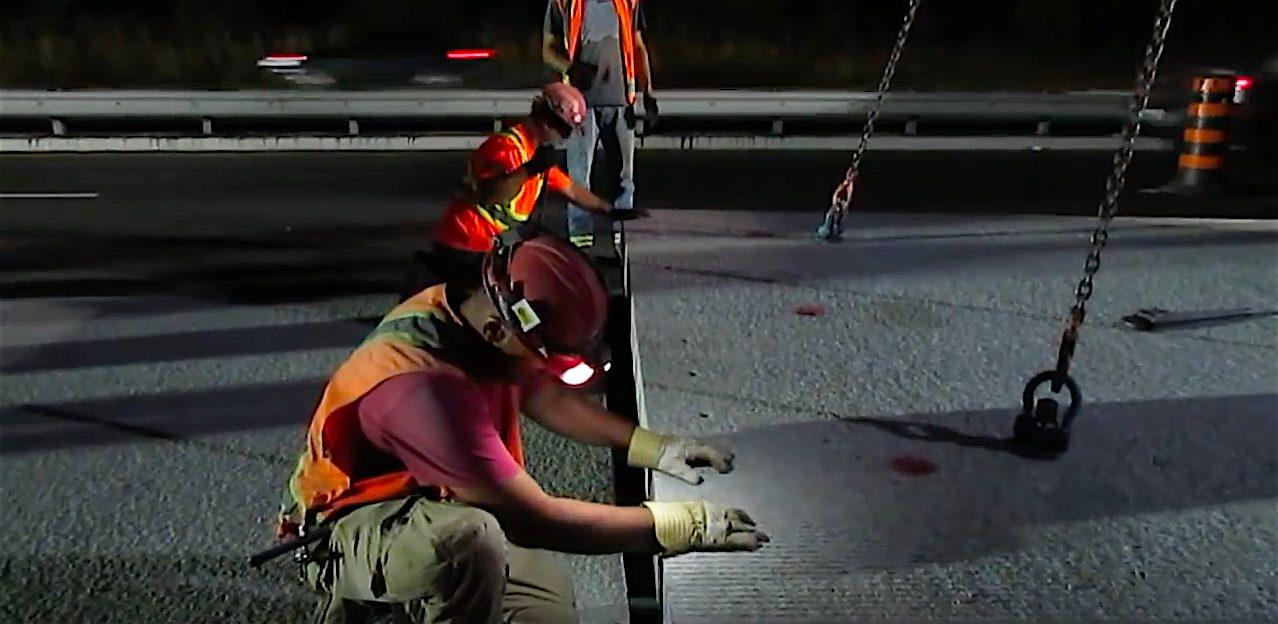 """TRB 2018 Presentation: """"Highway 400 Precast Concrete Inlay Panel Project: Instrumentation Plan, Installation, & Preliminary Results"""", Ontario, Canada"""