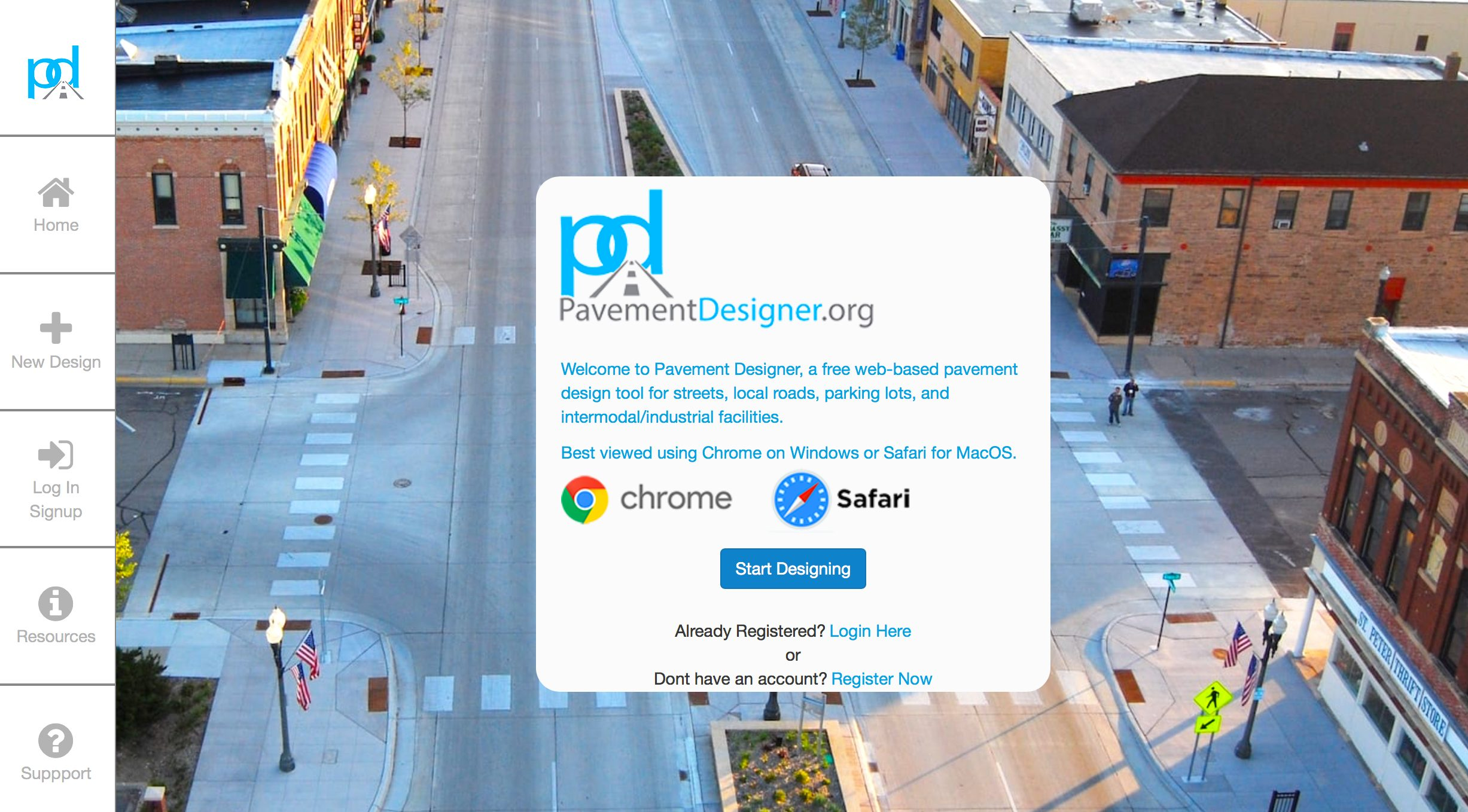 """WEBINAR Feb 28: To Continue Outreach, Education & Promotion of """"PavementDesigner.org"""""""